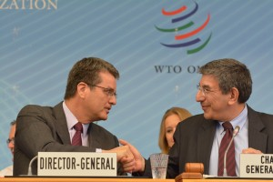 Divergent transatlantic approaches to post-Bali agenda appearing in WTO