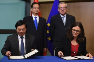 EU and Vietnam ink their FTA