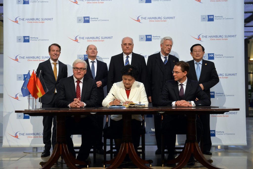 Trump world hovers over next steps in EU China investment and trade moves