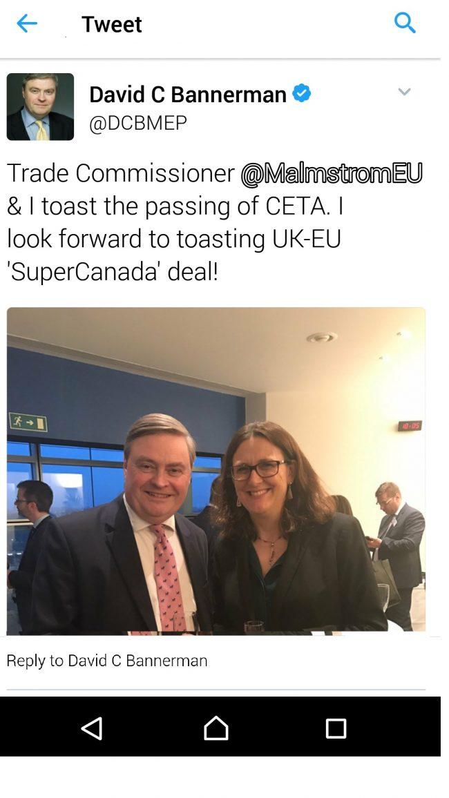 Britain's awkward embrace of CETA