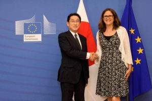 Analysis: EU Japan trade deal leaves sensitive topics for further negotiation