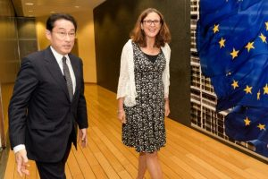 EU and Japan to state support for global free trade, WTO