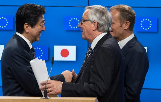 Borderlex on US radio programme 'Wake' on EU Japan trade deal