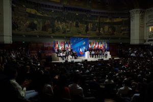 Macron speech: trade discourse focuses on transparency, enforcement and reciprocity