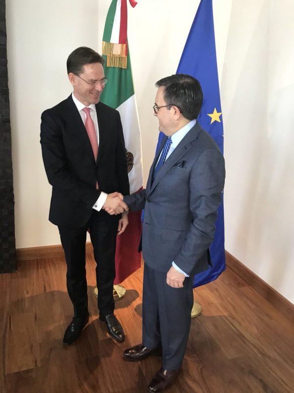 A week in Brussels: Mercosur, Mexico, Brexit, Switzerland