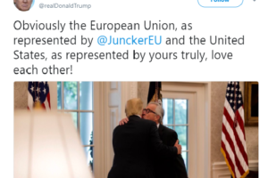 Trump and Juncker secure a 'win' on trade