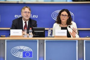 INTA committee meeting. Exchange of views with Cecilia MALMSTROM, Member of the EC in charge of Trade.