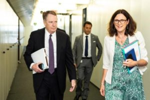 "Malmström and Lighthizer aim for regulatory ""early harvest"""