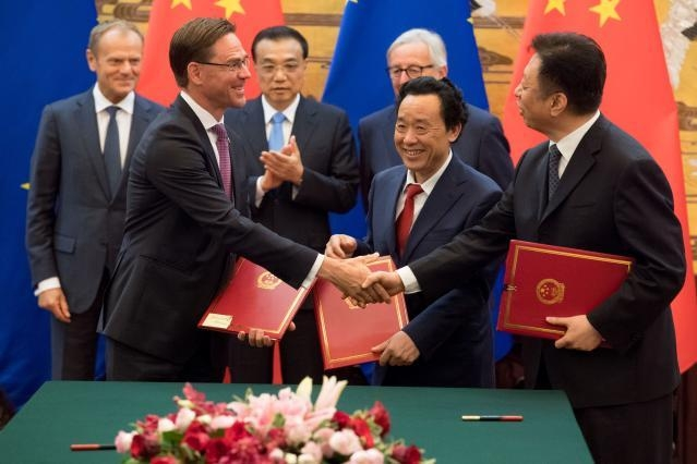 China and the EU: The contradictions of exercising joint trade leadership