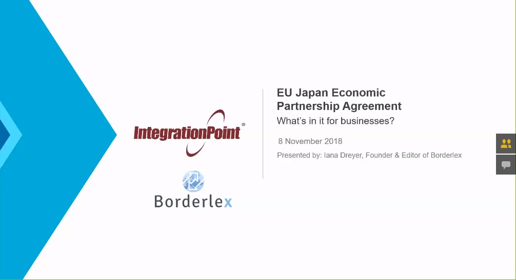 Listen to an introduction to the EU Japan Economic Partnership Agreement
