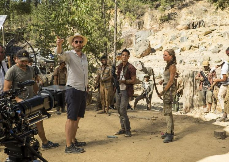 Filming Lara Croft: Tomb Raider, which stars Alicia Vikander © Warner Bros Pictures