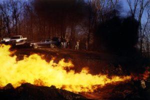 Natural gas flare © James St John