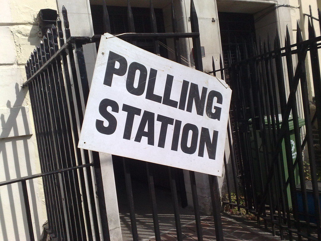Polling station in London © secretlondon123