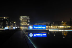 The European Commission blocked the merger of ThyssenKrupp and Tata Steel