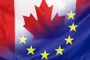 Canada-EU flag
