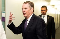 Robert Lighthizer responsed on whether the US will initiate a procedure that could lead to steep import tariffs on EU products