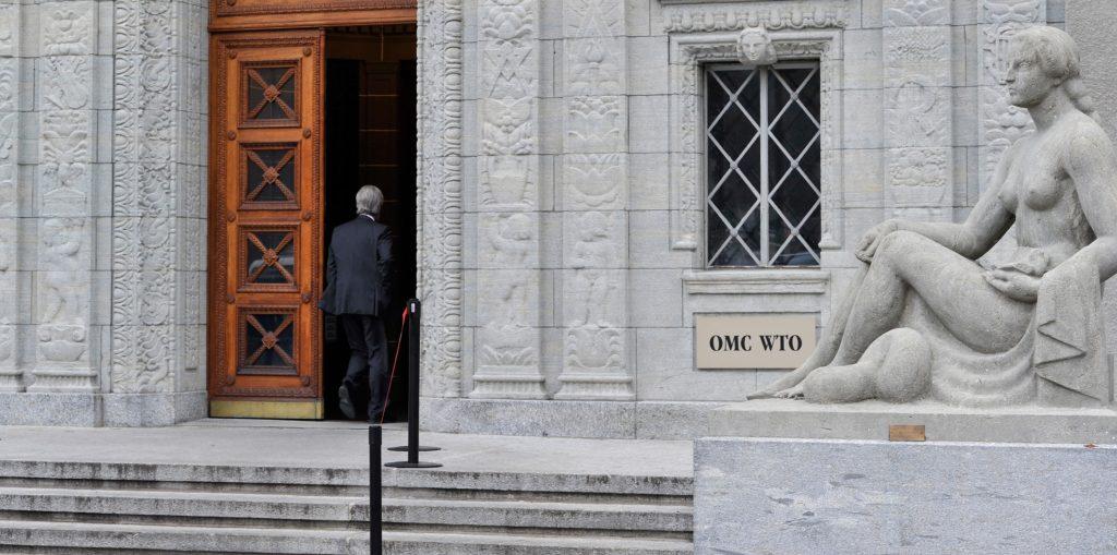 WTO building EU/AFP/HAROLD CUNNINGHAM
