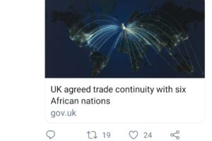 Britain secures product origin cumulation in Southern African pact rollover