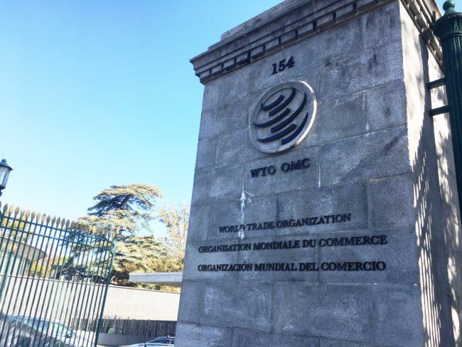 WTO Building in Geneva. Credit: WTO