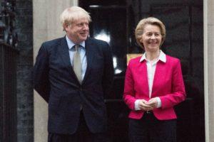 Ursula von der Leyen, Boris Johnson