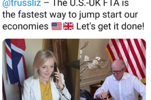 UK-US FTA negotiations expected to begin