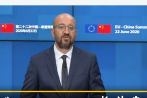 In brief: EU tries to put itself on Chinese radar screen at post-COVID-19 summit