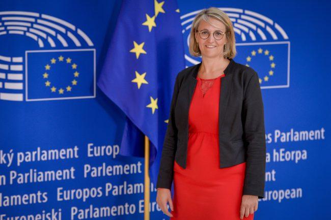 Marie-Pierre VEDRENNE in the EP in Strasbourg