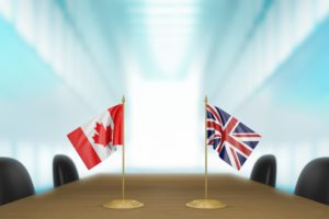 UK-Canada continuity trade negotiations begin