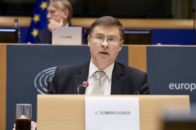 EP Hearing of Valdis DOMBROVSKIS,  Executive Vice-President for An Economy that Works for People, designated to assume responsibility for trade